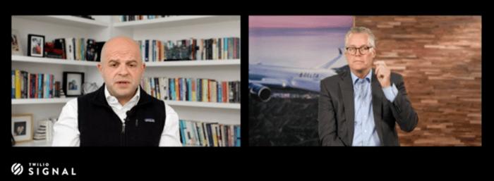 デルタ航空との対談