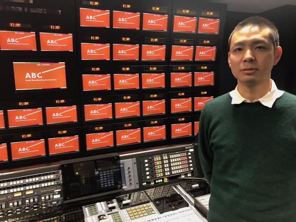 朝日放送テレビ株式会社 技術局開発部 小南 英司 様の写真